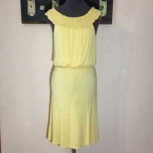 2/$30 BCBG Paris Dress with Elastic Smocking Sz S